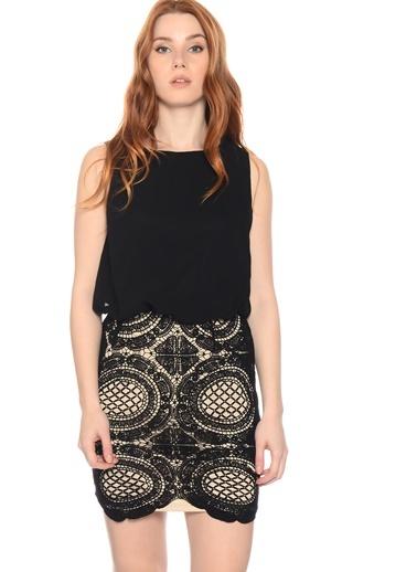 Kolsuz Mini Elbise-Gırl In Mınd